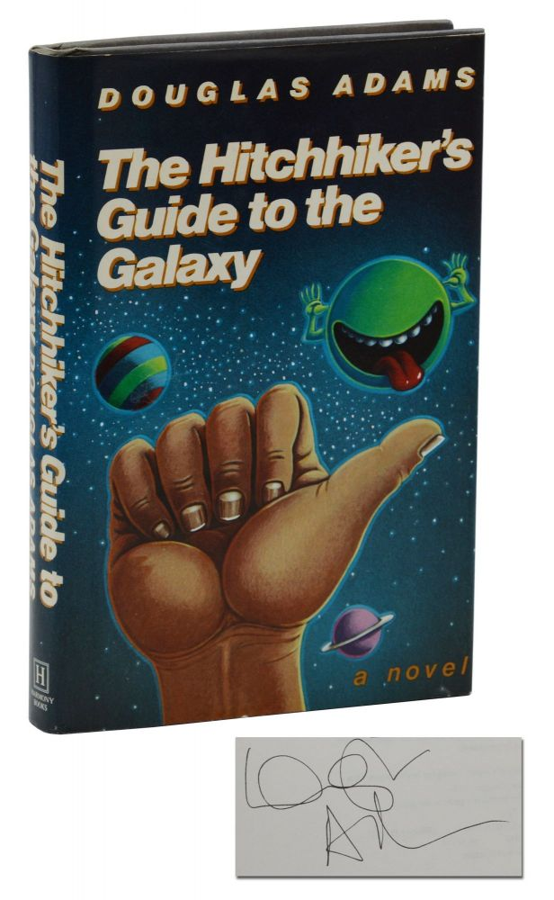 The Hitchhiker's Guide to the Galaxy. Douglas Adams.
