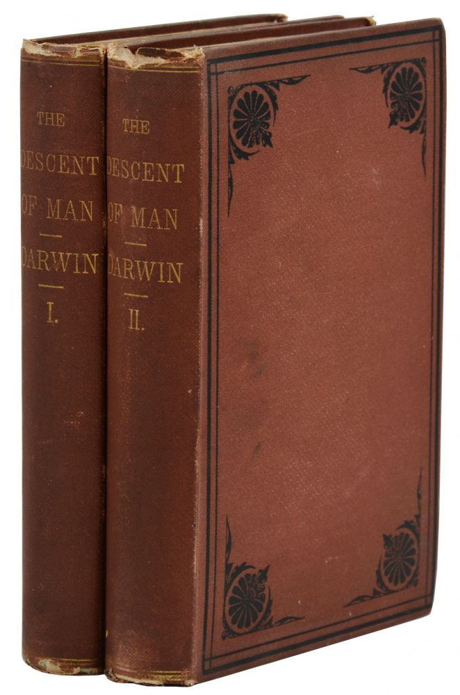 The Descent of Man. Charles Darwin.