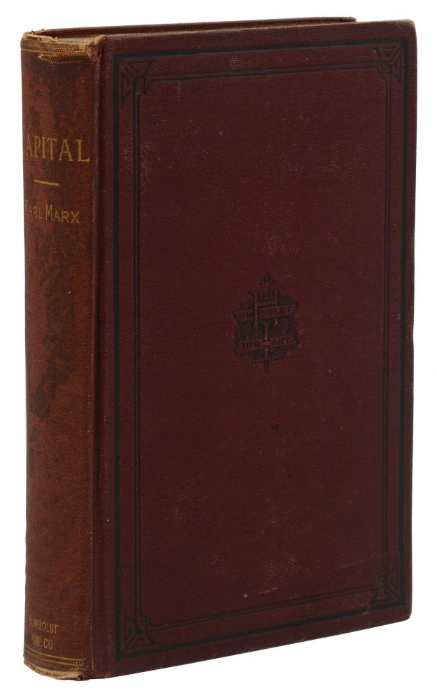 Capital: A Critical Analysis of Capitalist Production. Karl Marx, Frederick Engels.