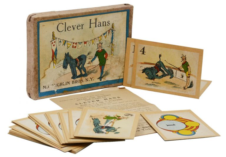 Clever Hans (Card game based on the famous problem solving horse). McLoughlin Brothers.