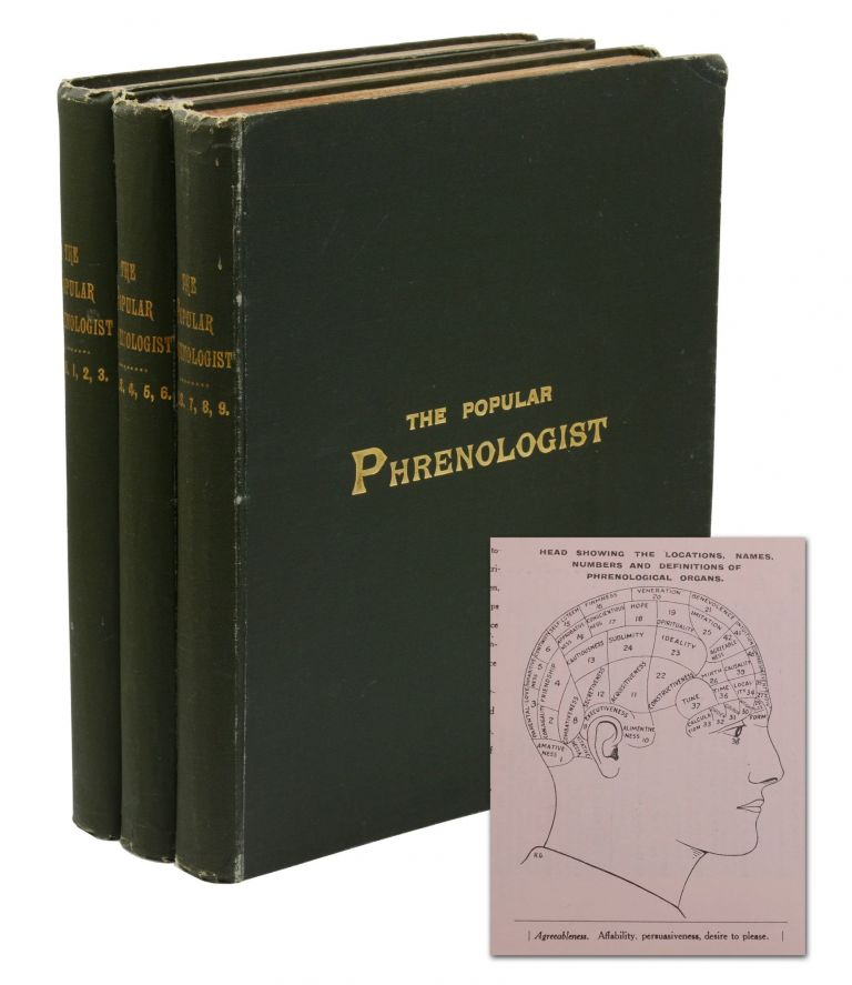 The Popular Phrenologist: A Journal of Mental Science and a Record of Human Nature. J. P. Blackford.