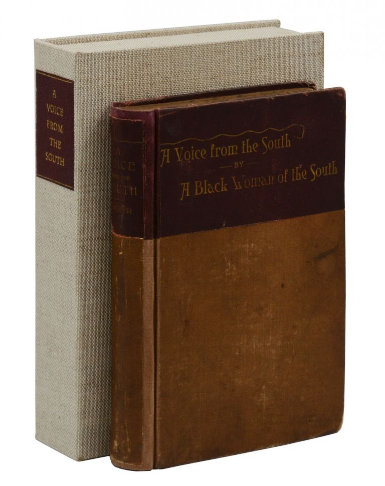 A Voice from the South: By A Black Woman of the South. Anna J. Cooper.