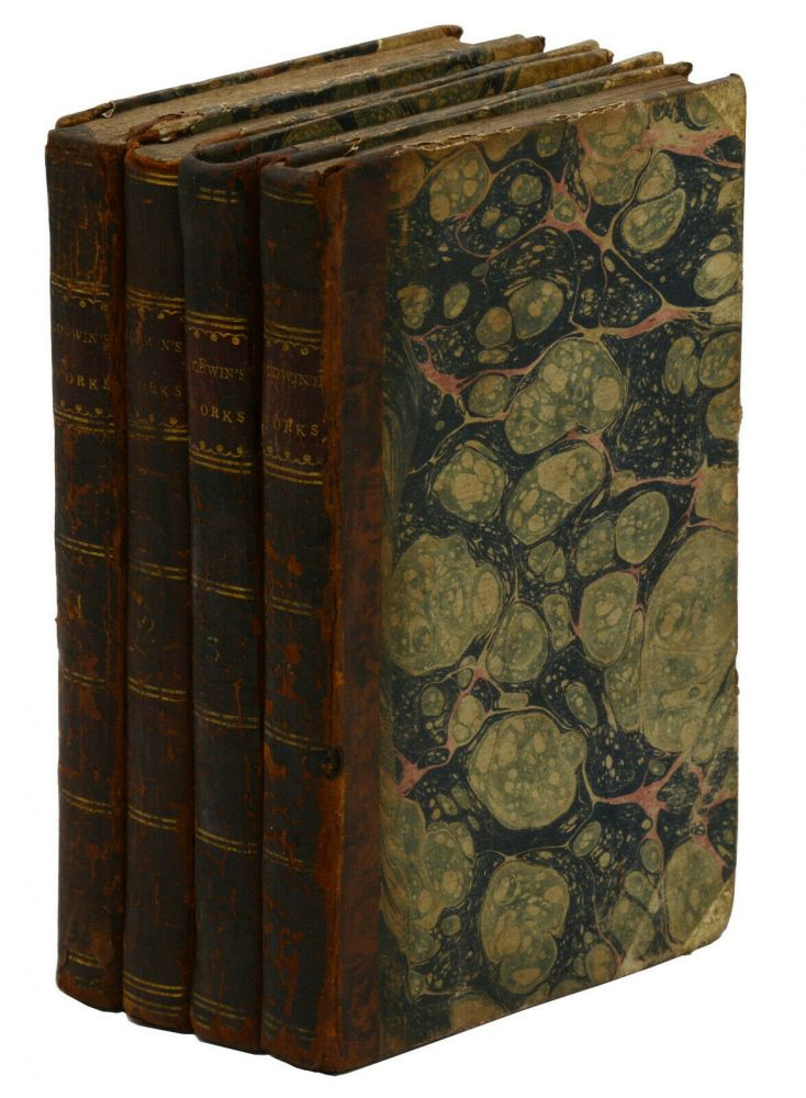 Posthumous Works of the Author of A Vindication of the Rights of Woman: In Four Volumes. Mary Wollstonecraft.