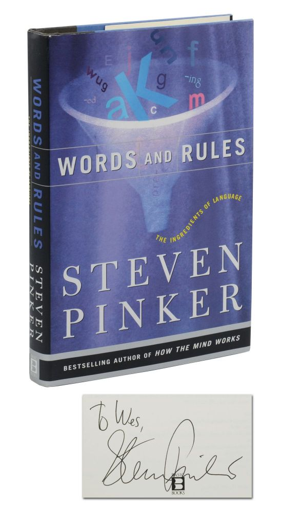 Words and Rules: The Ingredients of Language. Steven Pinker.