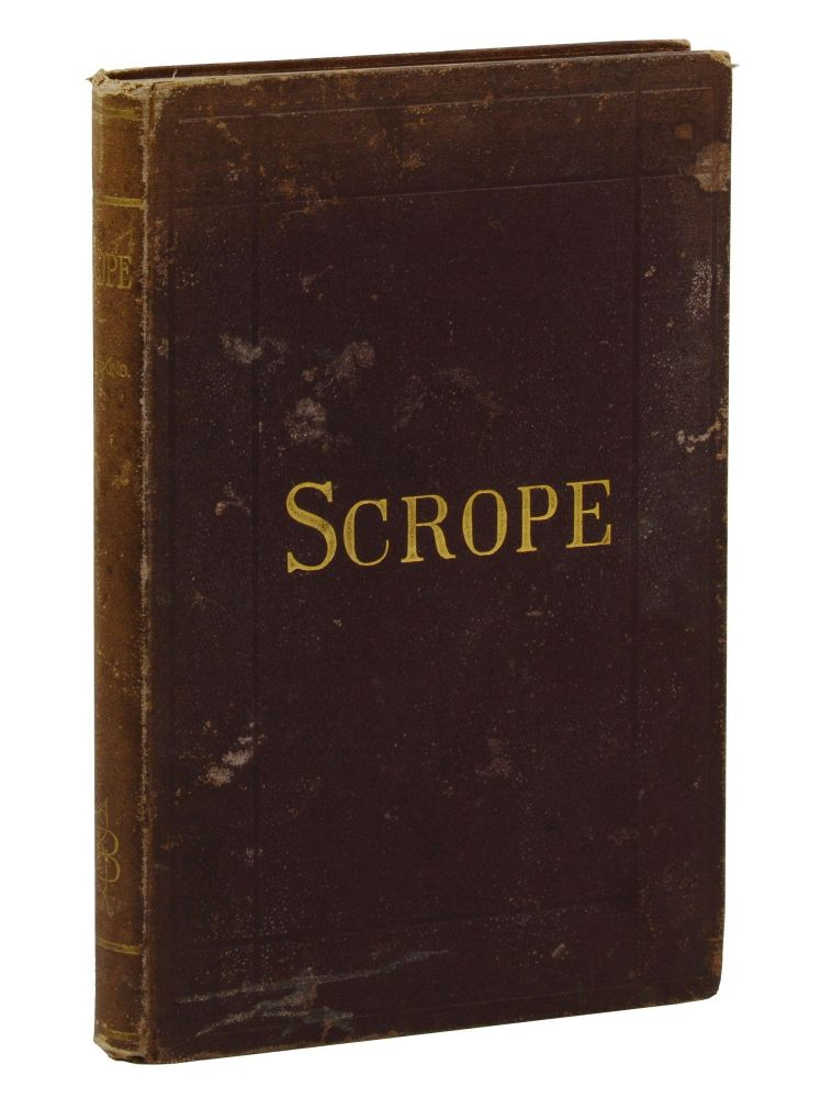 Scrope; or The Lost Library. A Novel of New York and Hartford. Frederic B. Perkins.