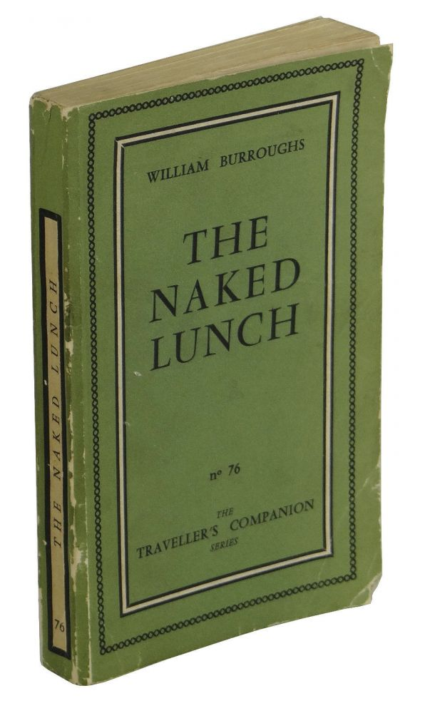 The Naked Lunch - William Burroughs - First edition, with