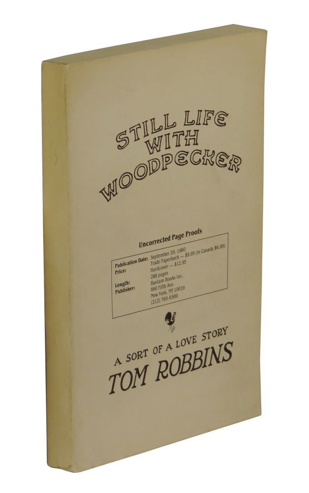 Still Life with Woodpecker. Tom Robbins.