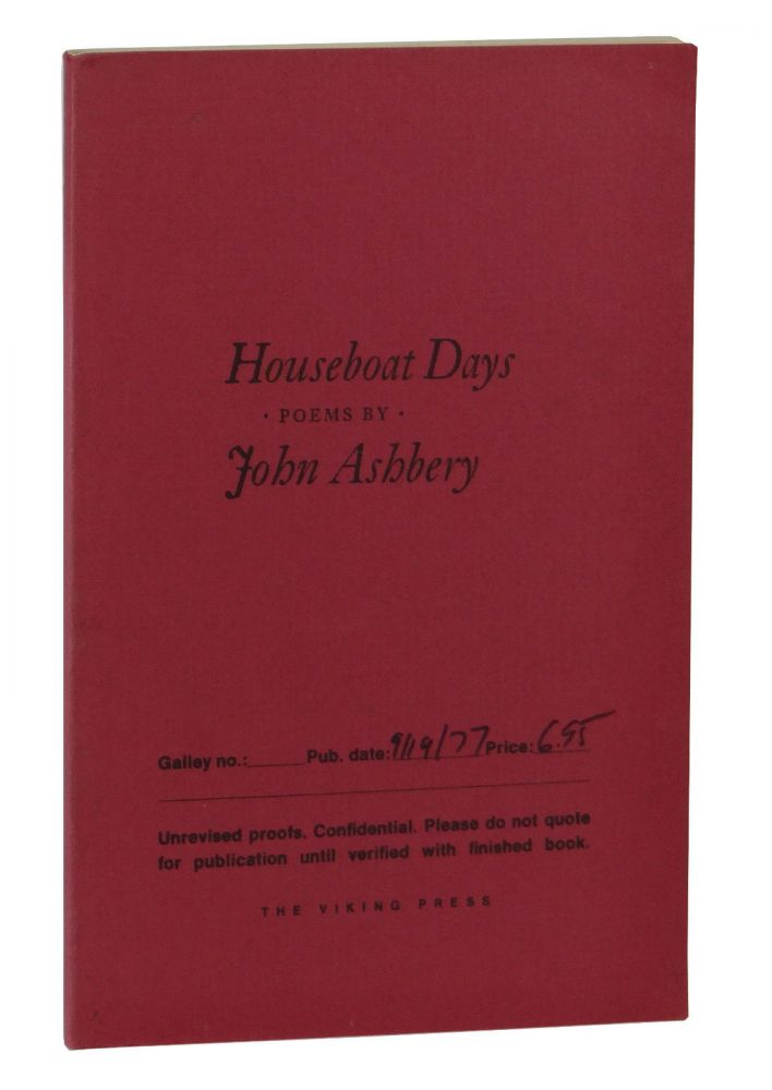 Houseboat Days. John Ashbery.