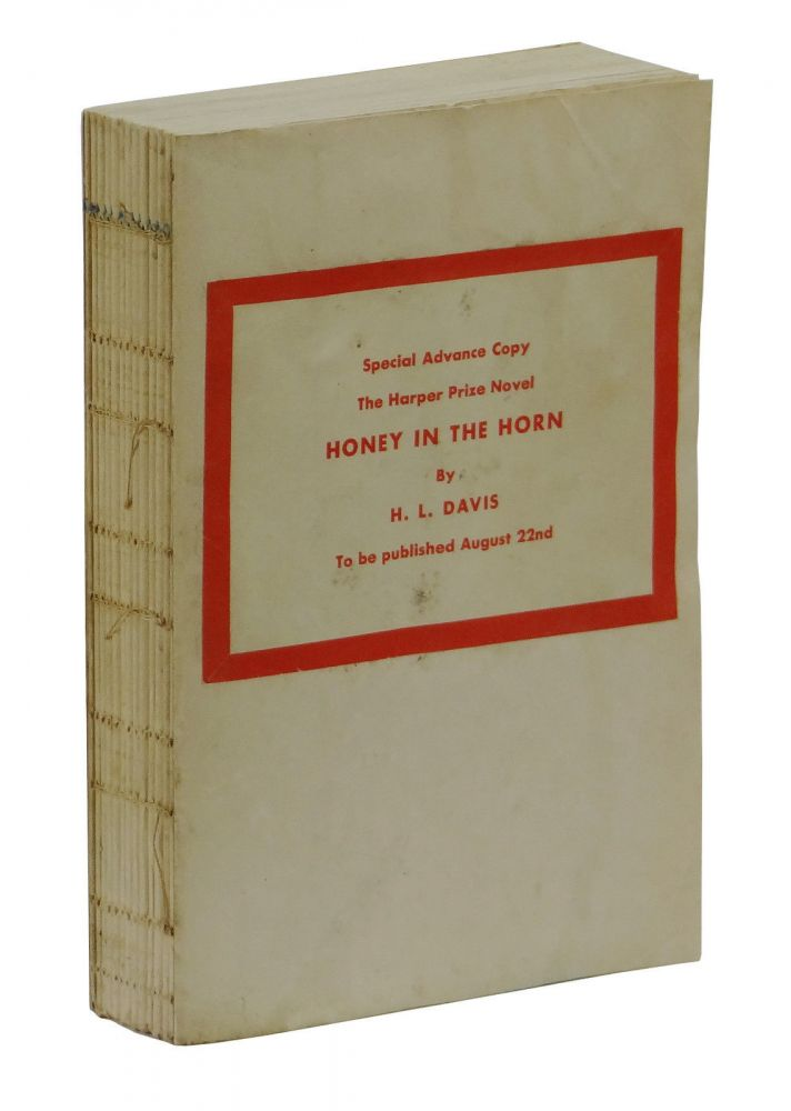 Honey in the Horn. H. L. Davis.