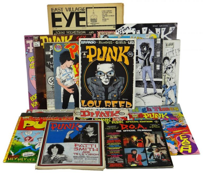 PUNK Magazine Complete Run 1-17 with Extras (1975-1981). John Holmstrom, Legs McNeil.
