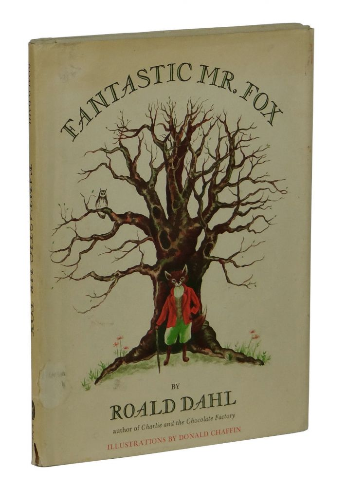 Fantastic Mr Fox Roald Dahl First Edition