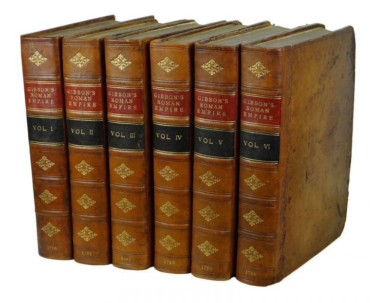 The History of the Decline and Fall of the Roman Empire. Edward Gibbon.