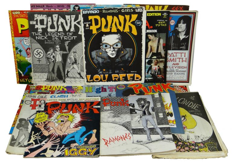 PUNK Magazine Complete Run 1-17 with D.O.A. Filmbook (1975-1979). John Holmstrom, Legs McNeil.