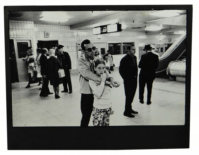 Bus station characters and travellers circa 1972, probably New York in seven black-and-white photos by an unknown photographer. Anonymous.