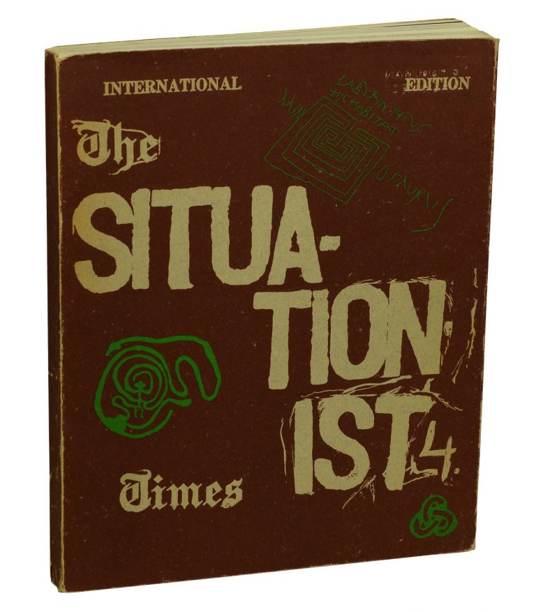 The Situationist Times 4, International Edition. Jacqueline De Jong.