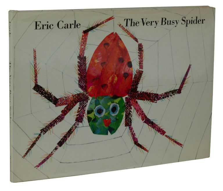 The Very Busy Spider. Eric Carle.