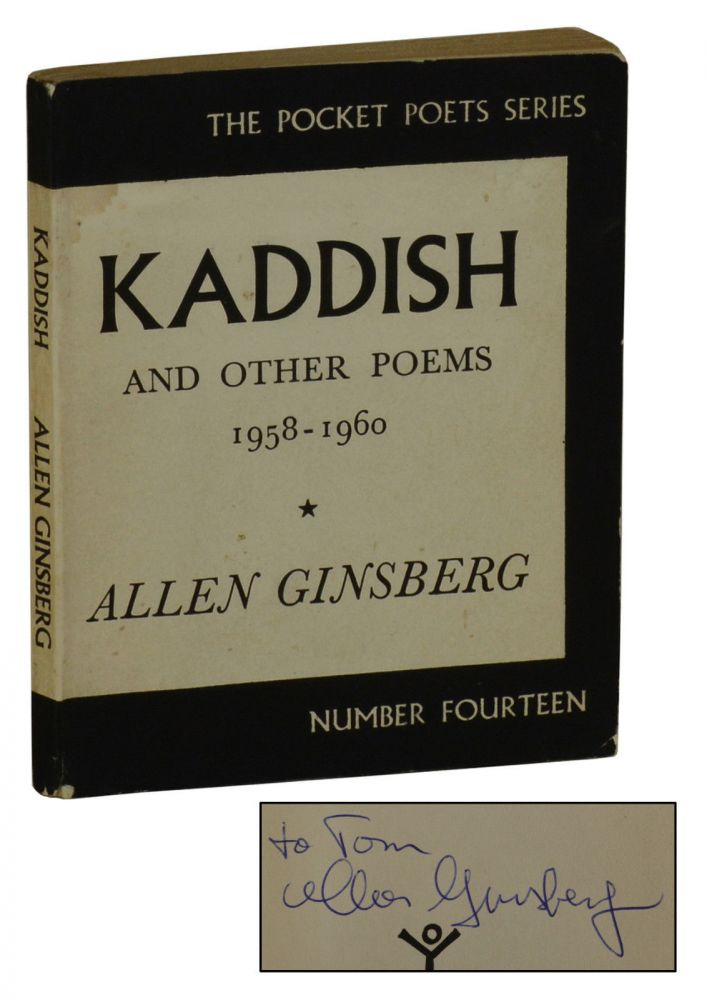 Kaddish and Other Poems. Allen Ginsberg.