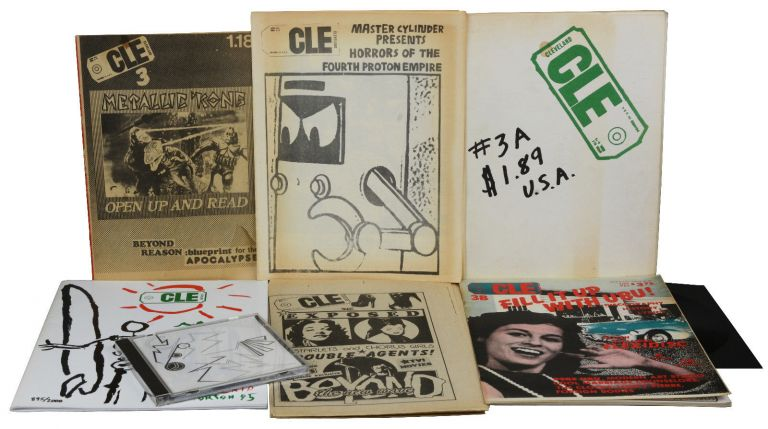 CLE Magazine: The First Six Issues (1, 2, 3, 3A, 3B, & 3X). Jim Ellis.