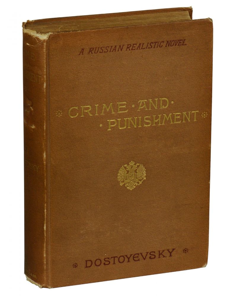 Crime and Punishment: A Russian Realistic Novel. Fyodor Dostoyevsky.