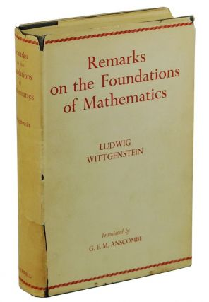 Remarks On The Foundation Of Mathematics. Ludwig Wittgenstein