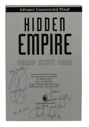 Hidden Empire. Orson Scott Card