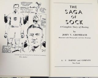 The Saga of Sock: A Complete Story of Boxing