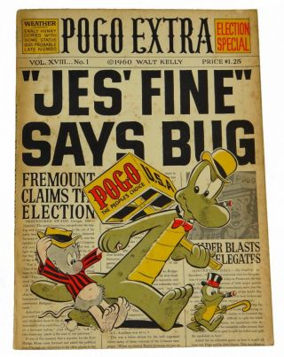 Pogo Extra (Election Special). Walt Kelly