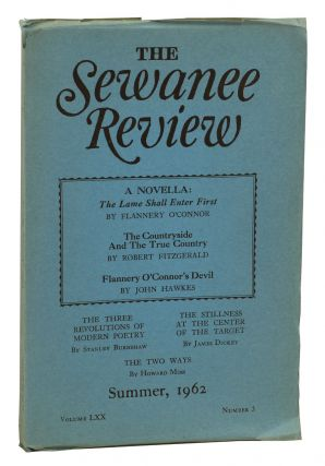"""The Lame Shall Enter First"" by Flannery O'Connor in The Sewanee Review, Summer, 1962. Flannery..."
