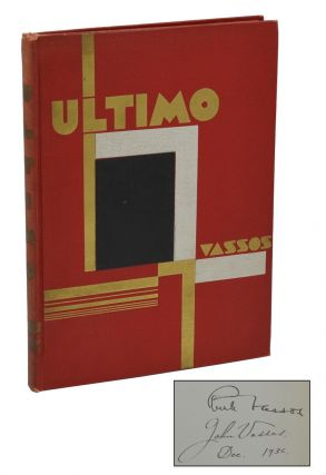 Ultimo. Ruth Vassos, John Vassos, Illustrations