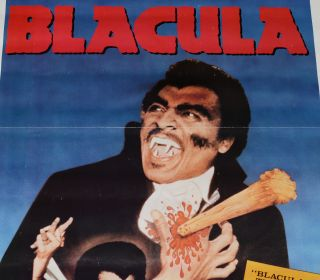 Blacula (Original one-sheet poster for video release)