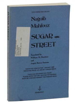Sugar Street. Naguib Mahfouz, William M. Hutchins, Angela Botros Samaan