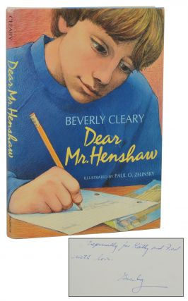 Dear Mr. Henshaw. Beverly Cleary