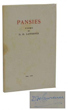 Pansies. D. H. Lawrence