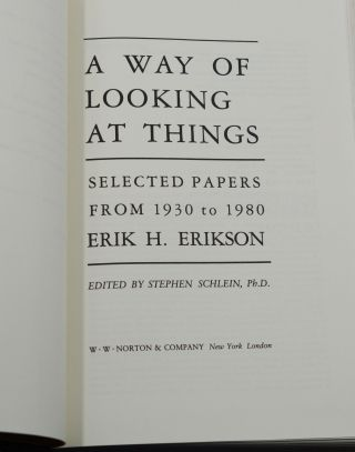 A Way of Looking at Things: Selected Papers from 1930 to 1980