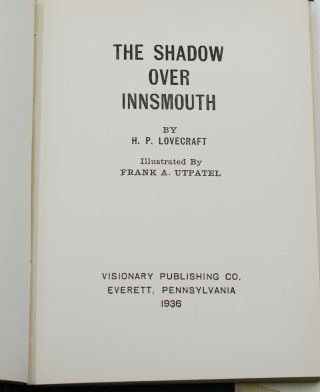Shadow Over Innsmouth