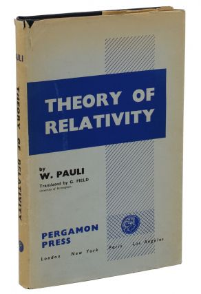 Theory of Relativity. Wolfgang Pauli, G. Field.