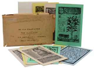 15 picture poem cards in original envelope sent to Jon Edgar Webb, publisher and editor of The...