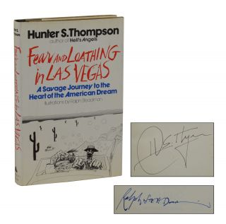 Fear and Loathing in Las Vegas. Hunter S. Thompson, Ralph Steadman, Illustrations