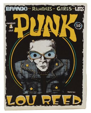 PUNK Issue 1. John Holmstrom
