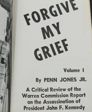 Forgive My Grief: Volume 1