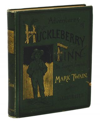 Adventures of Huckleberry Finn: Tom Sawyer's Comrade. Mark Twain.