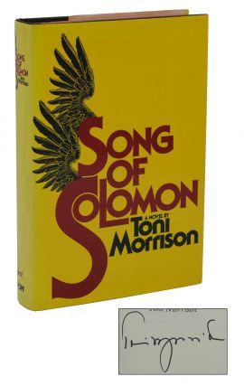 Song of Solomon. Toni Morrison.