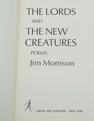 The Lords and The New Creatures