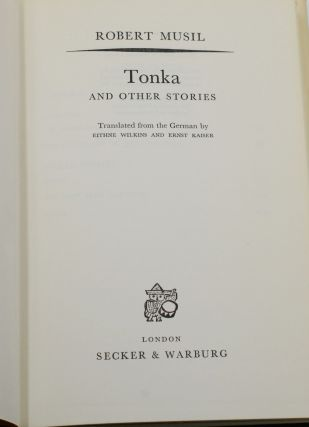 Tonka and Other Stories