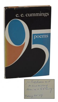95 Poems. E. E. Cummings.