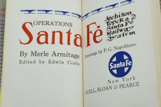 Operations Santa Fe: Atchison Topeka & the Santa Fe Railway System