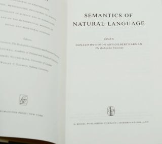"""""""Naming and Necessity"""" in Semantics of Natural Language (Synthese Library No. 40)"""