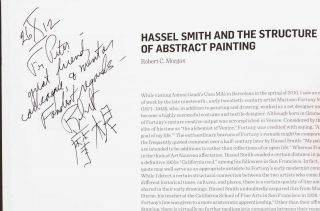 Hassel Smith: Paintings 1937-1997