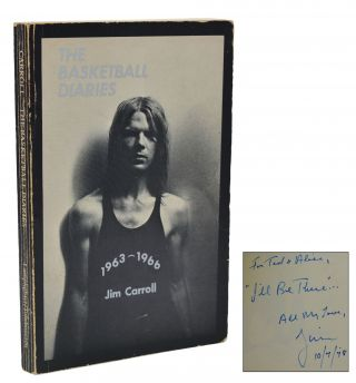 The Basketball Diaries (Association Copy). Ted Berrigan, Alice Notley, Jim Carroll
