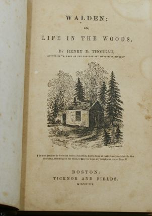 Walden, or Life in the Woods